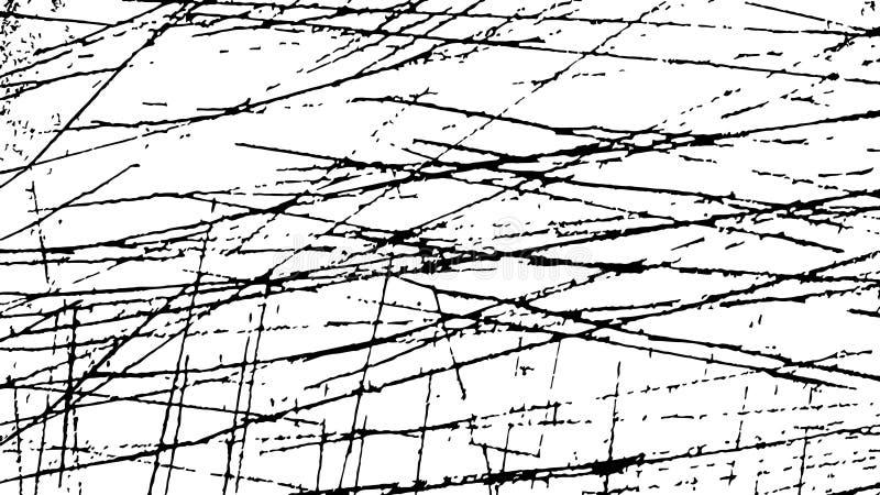 grunge tła czarny white ilustracja wektor