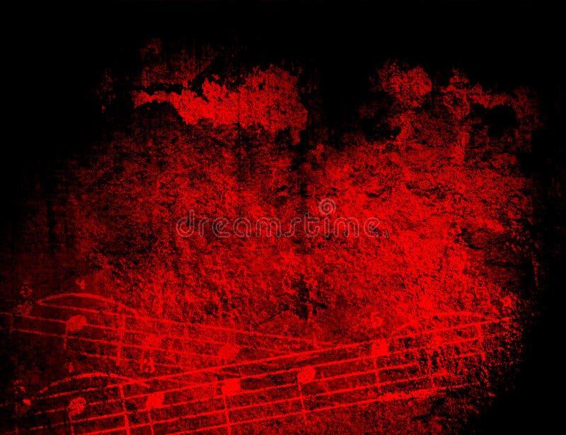 grunge tła melodii tekstury ilustracji