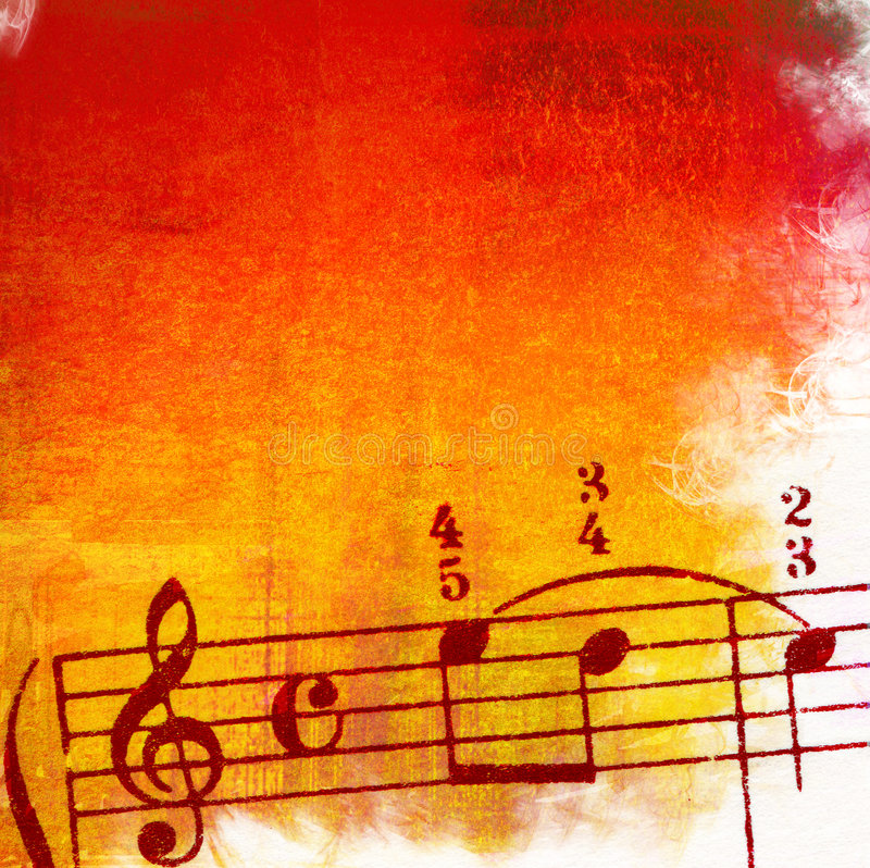 grunge tła melodii tekstury ilustracja wektor