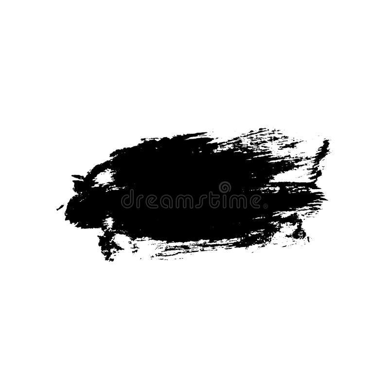 Grunge tła muśnięcia uderzenie ilustracja wektor