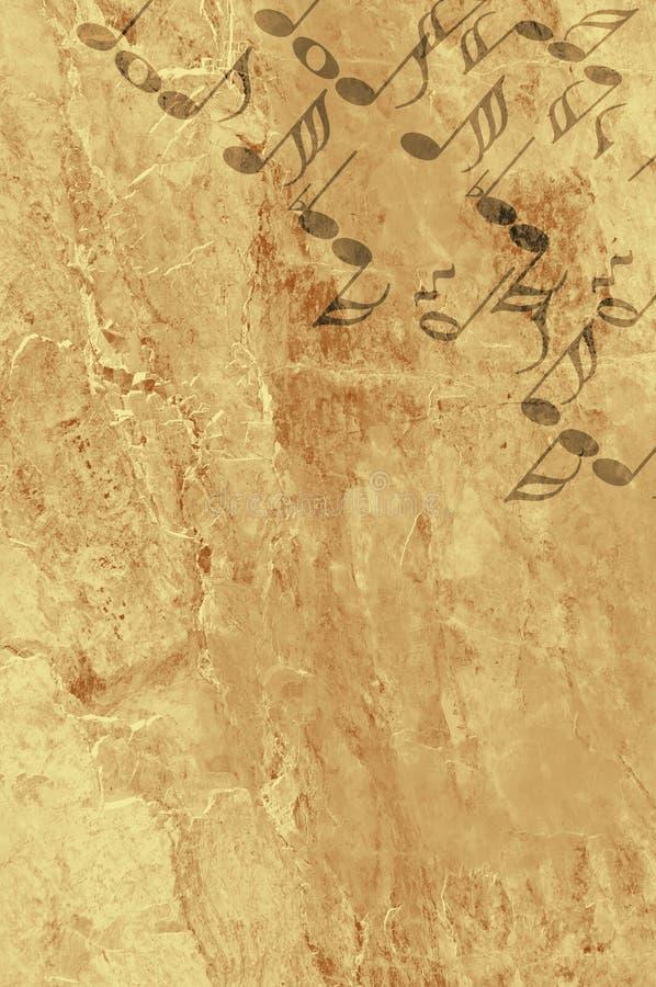 grunge tła muzyki ilustracja wektor