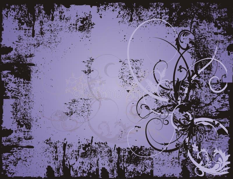 grunge tła purpurowy ilustracji