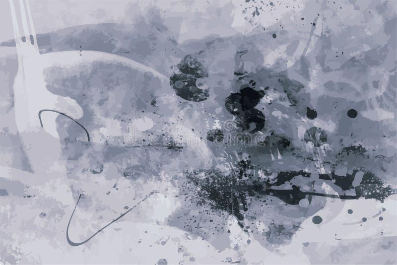 Grunge tła sztuki stylu rocznika Wektorowego Editable stylu Retro Zakłopotana tekstura Wielki projekta elementu tło Dla royalty ilustracja