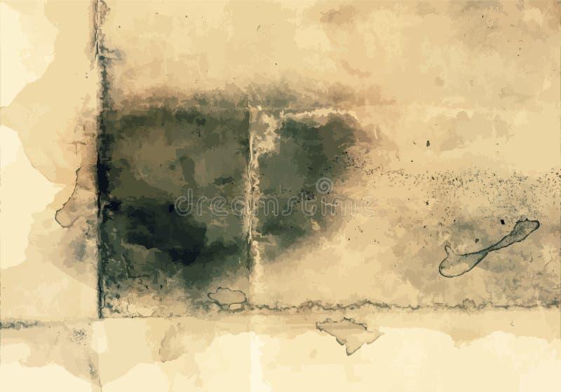 Grunge tła sztuki stylu rocznika Wektorowego Editable stylu Retro Zakłopotana tekstura Wielki projekta elementu tło Dla ilustracja wektor