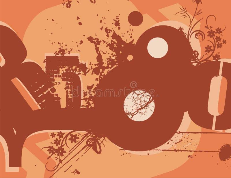 grunge tła typografia ilustracji