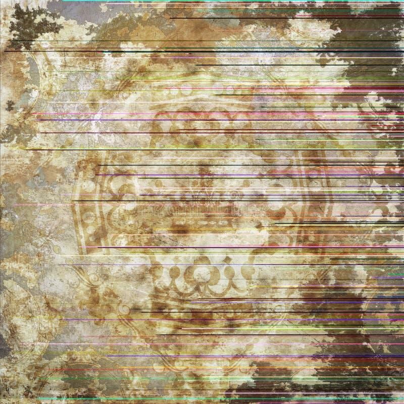 Grunge tło. Abstrakcjonistyczna tekstura. ilustracja wektor
