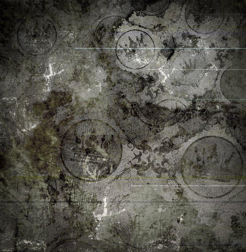 Grunge tło. Abstrakcjonistyczna tekstura. ilustracji
