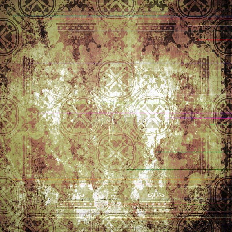 Grunge tło. Abstrakcjonistyczna tekstura. royalty ilustracja