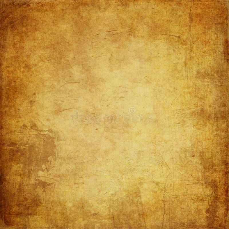 GRUNGE tło BROWN, POMARAŃCZOWA, SZORSTKA tekstura STARA kanwa, P ilustracja wektor