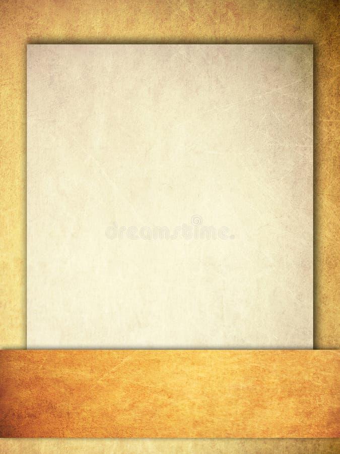 Grunge tło z faborkiem i papierem obraz stock