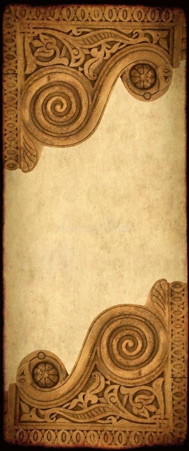 Grunge tło z papierową teksturą zdjęcia royalty free