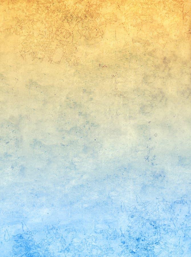 Grunge tło z teksturą stary brudnawy papier fotografia royalty free