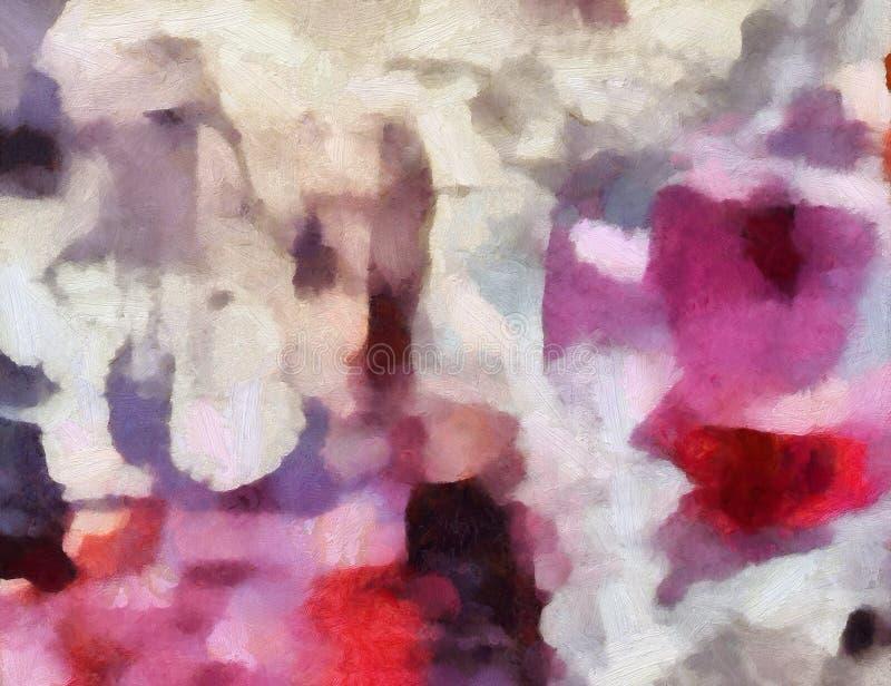 grunge t?a abstrakcyjne Brudny stylu wzór Prosty obraz sztuki szablon z ampułą textured szczotkarskich uderzenia Kolorowy ładny zdjęcie stock