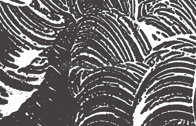 Grunge tekstura Cierpienia czerni popielaty szorstki ślad A ilustracji