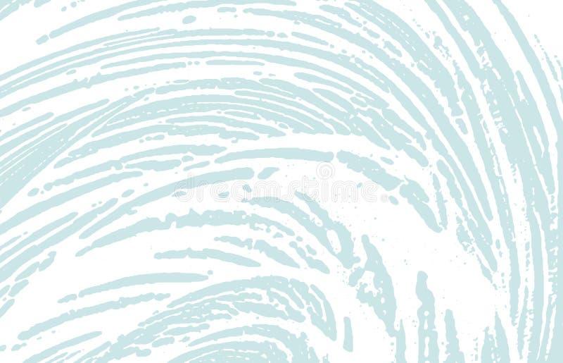 Grunge tekstura Cierpienie błękitny szorstki ślad Dazzlin ilustracja wektor