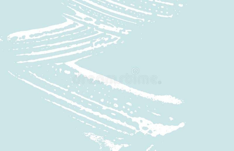 Grunge tekstura Cierpienie błękitny szorstki ślad hoży ilustracji