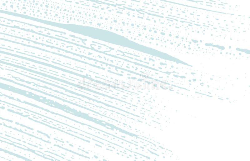 Grunge tekstura Cierpienie błękitny szorstki ślad klasyk ilustracja wektor