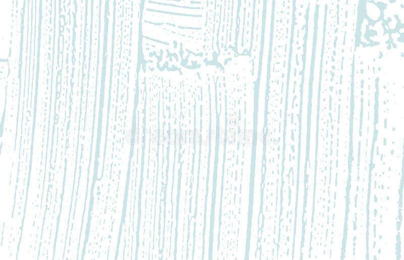 Grunge tekstura Cierpienie błękitny szorstki ślad classy ilustracja wektor