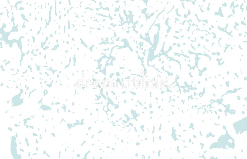 Grunge tekstura Cierpienie błękitny szorstki ślad classy royalty ilustracja