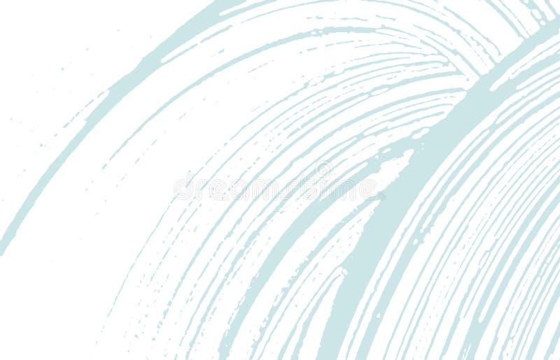 Grunge tekstura Cierpienie błękitny szorstki ślad Dziwaczny tło Hałasu grunge brudna tekstura Unikalny ar ilustracja wektor