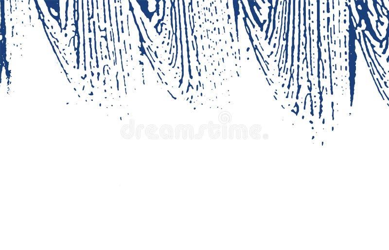 Grunge tekstura Cierpienie indygowy szorstki ślad Boski tło Hałasu grunge brudna tekstura Glamorou ilustracji