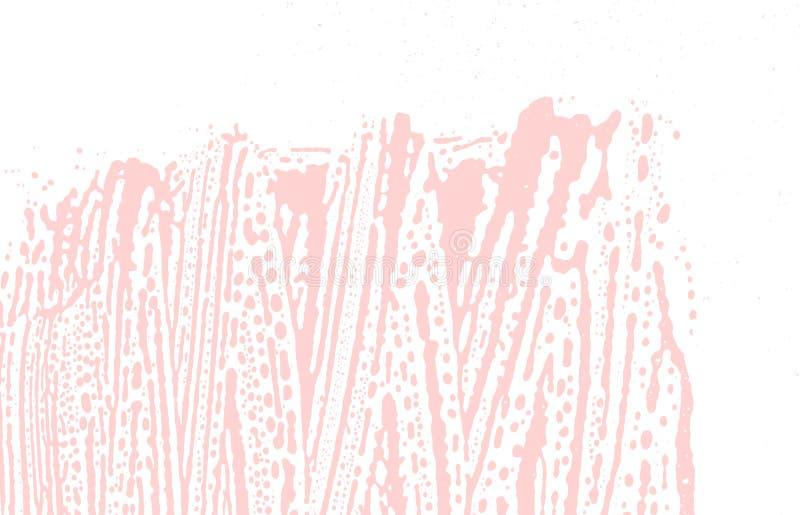 Grunge tekstura Cierpienie różowy szorstki ślad Favorab royalty ilustracja