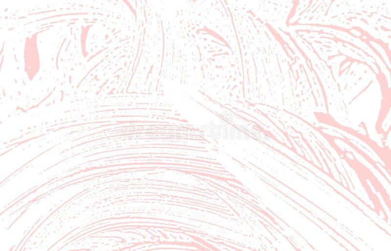 Grunge tekstura Cierpienie różowy szorstki ślad Wizjoner royalty ilustracja