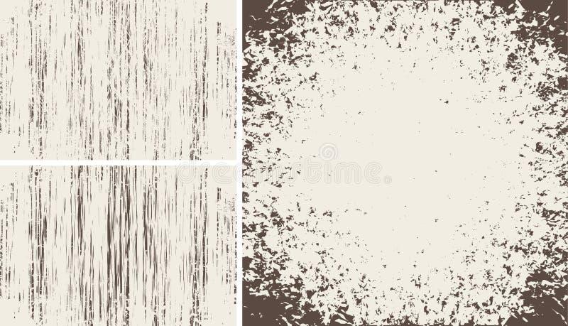Grunge tekstury ilustracja wektor
