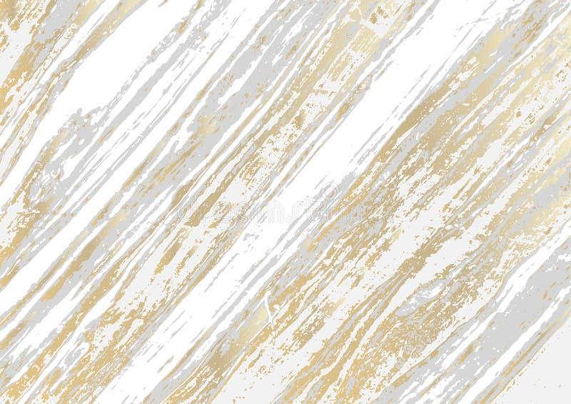 Grunge tekstury marmurowy wektorowy abstrakcjonistyczny tło royalty ilustracja