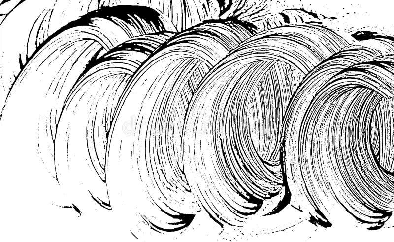 Grunge tekstury mydlany zboczeniec royalty ilustracja
