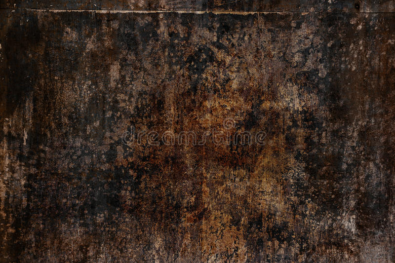 Grunge texture, old dark background stock photography