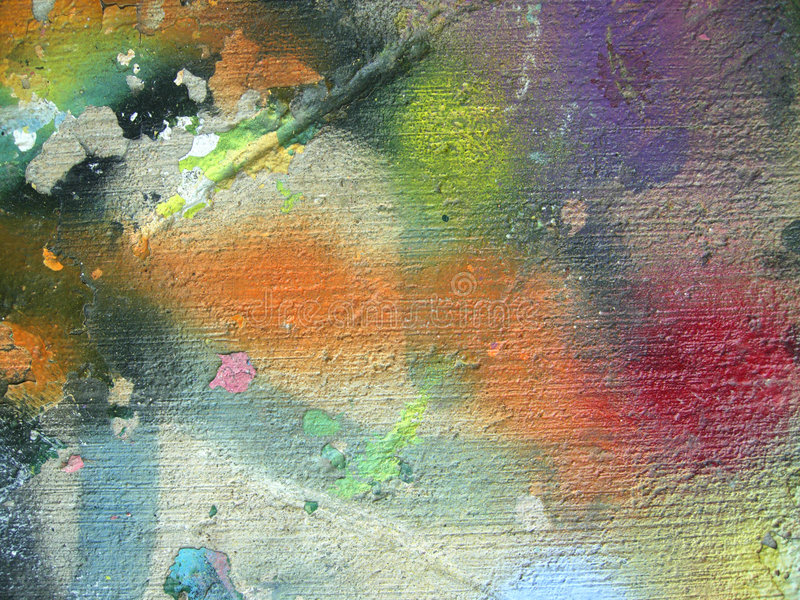 Grunge Texture. Colorful, grunge texture with graffiti. Click my portfolio for more great grunge