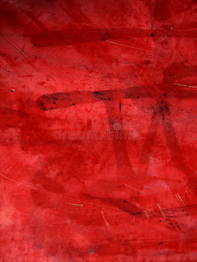 Grunge Texture. With layers of red paint & scratches. Click my portfolio for more great grunge