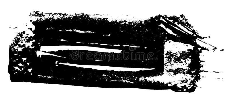Grunge texture. Black brush on white. Vector template. Urban Background. Dust Overlay Distress Grain. Hand drawn illustration. Ab stock illustration