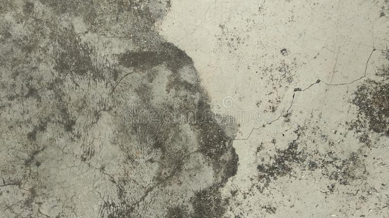 Grunge Texture . Cracked Cement wall Background royalty free stock photos