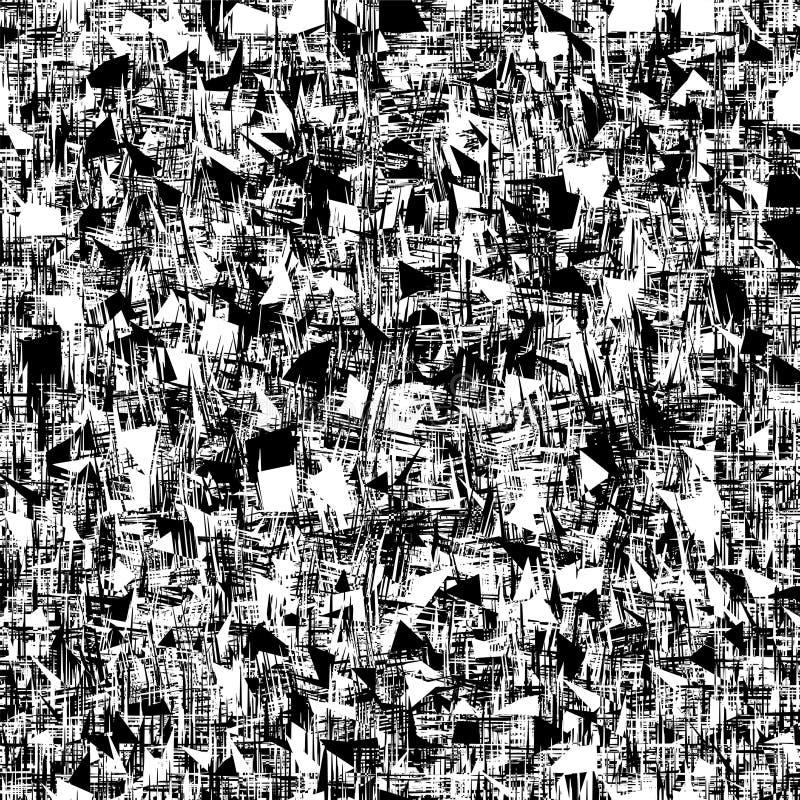 Grunge texture Défaillance éclatée, arrière-plan sale illustration libre de droits