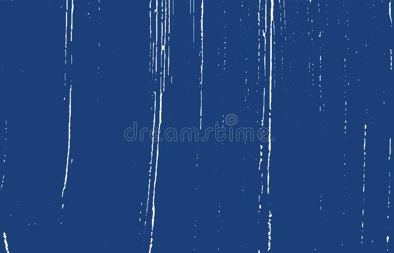 Grunge texture Distesse indigo trace rugueuse Excel illustration stock