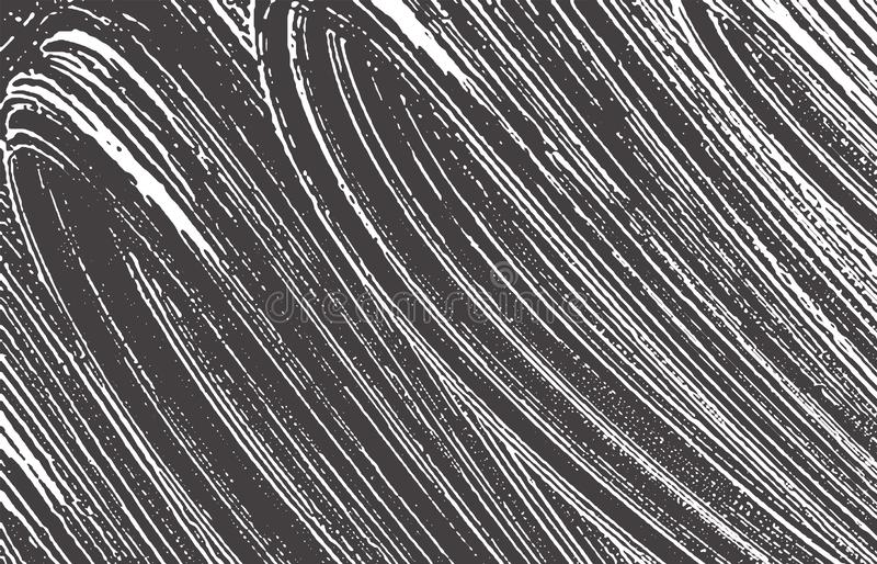Grunge texture. Distress black grey rough trace. A stock illustration