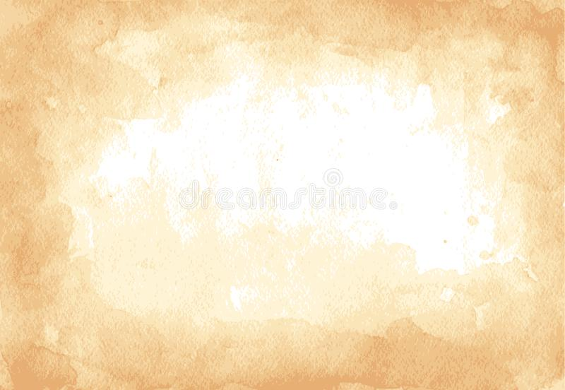 Grunge texture of old paper. Vector illustration. vector illustration