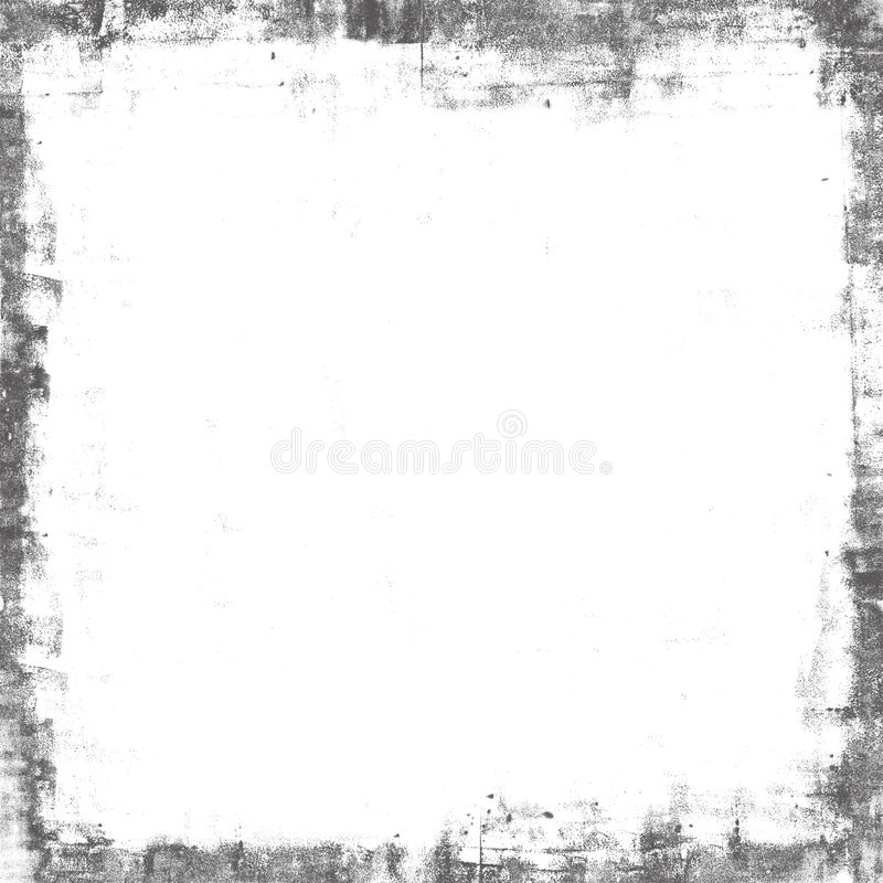 Grunge texture painted frame mask overlay. Grunge frame overlay, painted texture stock image