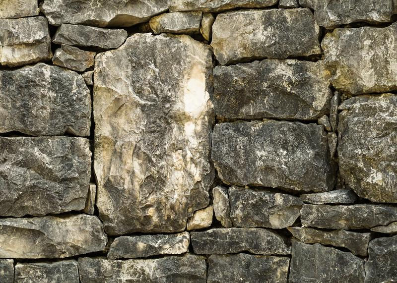 Grunge texture of stone bricks. stock photography