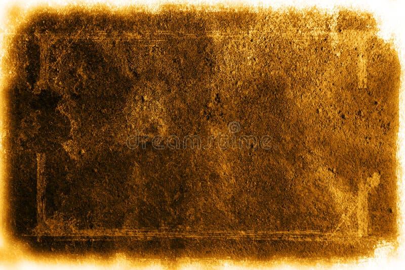 Grunge texture with white border stock photos