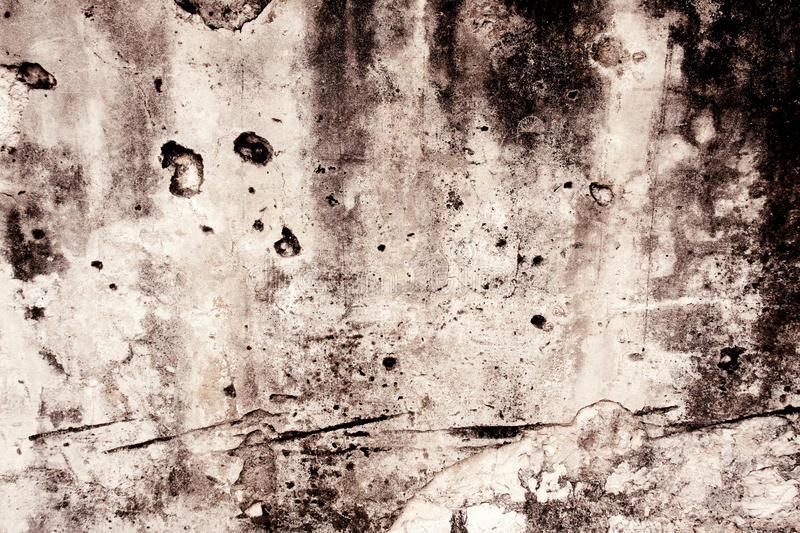 Grunge Textured Abstract Wall Stock Photography