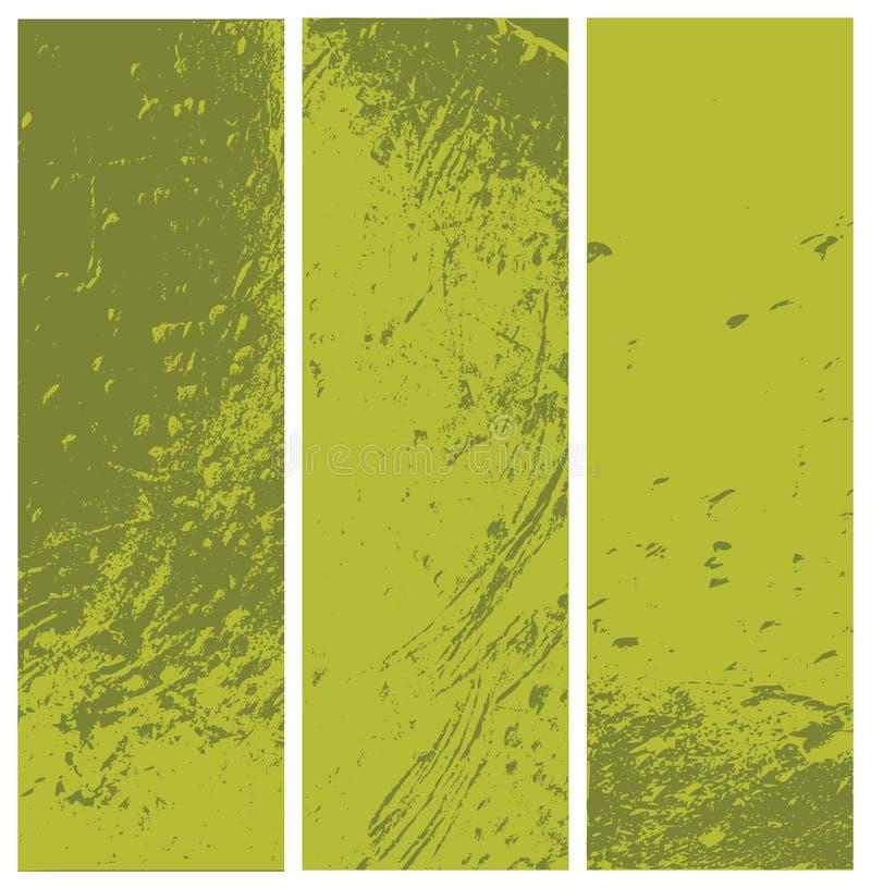 Grunge textured banners stock photos