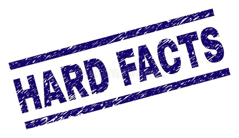 Grunge Textured CIĘŻKA fact znaczka foka royalty ilustracja