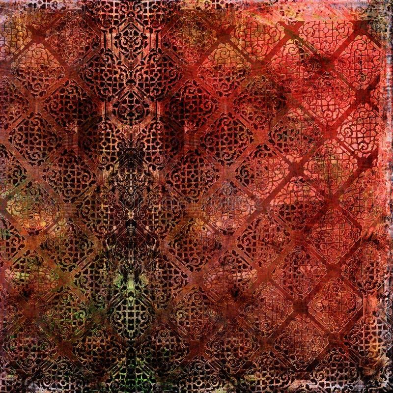 Grunge Textured o fundo ilustração do vetor