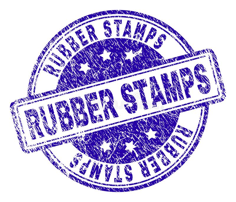 Grunge Textured RUBBER STAMPS Stamp Seal vector illustration