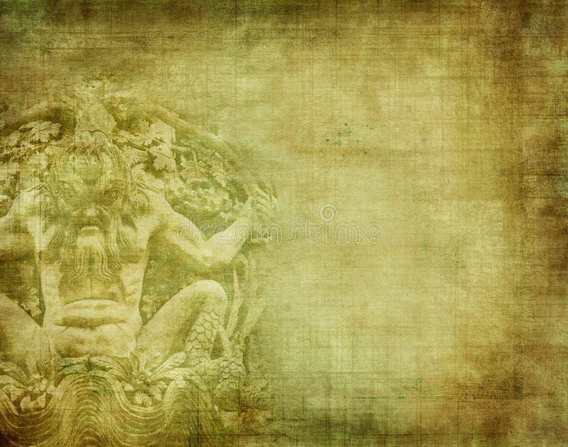 Grunge texturerade backround royaltyfri illustrationer