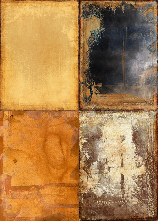 Grunge Textures Royalty Free Stock Photography
