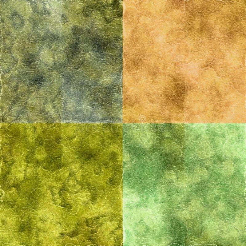 Grunge Textures Set vector illustration